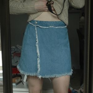 Denim Mini-Skirt by Romeo and Juliet Couture